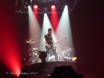 Chris Wolstenholme MUSE Live at Ft Worth Convention Center TX 2010