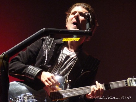 Matt Bellamy MUSE Live at Ft Worth Convention Center TX 2010
