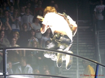 Matt Bellamy MUSE Live at the Gwinnett Arena in Duluth GA 2010
