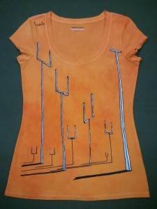 Muse Origin of Symmetry Cover Art Hand-Painted T-Shirt, Muse, Shirt, T-Shirt, Hand Painted, Handmade, Sketch, OoS, Origin of Symmetry, drawing, Acrylic, Paint, Cover Art,