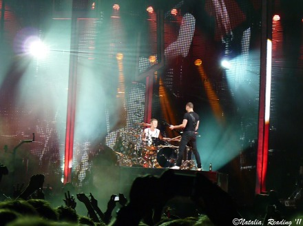 Muse Live at Reading Festival UK 2011