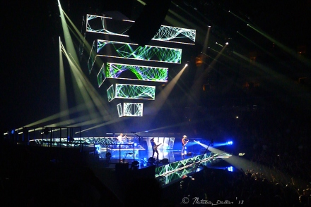 Muse Live at the American Airlines Center in Dallas TX, 2013
