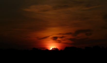 TX Sunrise, July 15th 2014